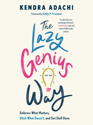 cover image of The Lazy Genius Way
