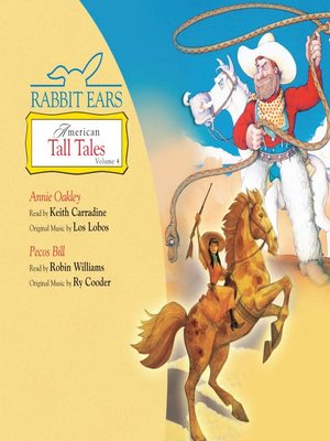 cover image of Rabbit Ears American Tall Tales, Volume 4