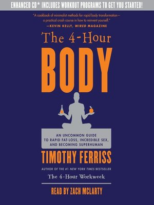 cover image of The 4-Hour Body