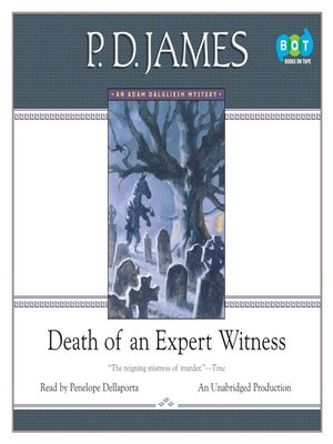 cover image of Death of an Expert Witness