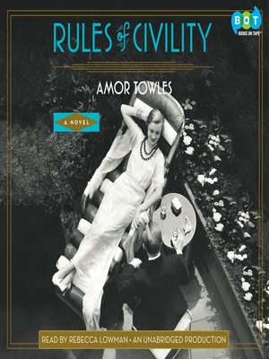 cover image of Rules of Civility