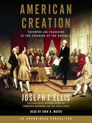 cover image of American Creation