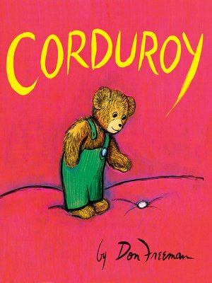 cover image of Corduroy