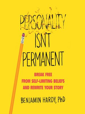 cover image of Personality Isn't Permanent