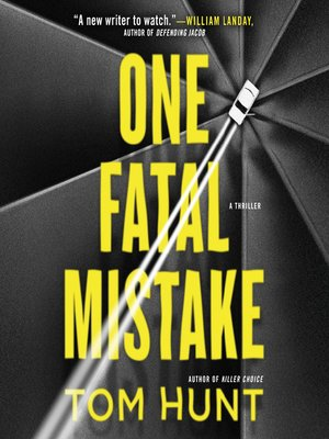 cover image of One Fatal Mistake