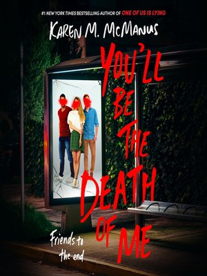 cover image of You'll Be the Death of Me