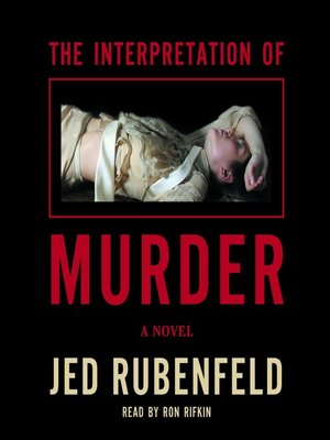 cover image of The Interpretation of Murder