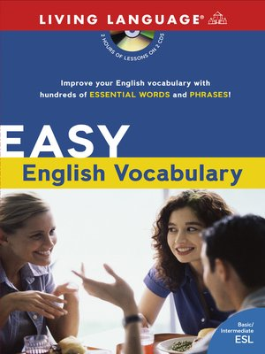 cover image of Easy English Vocabulary