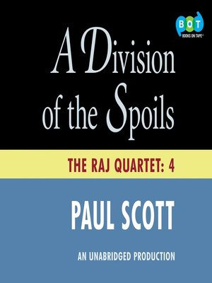 cover image of A Division of Spoils