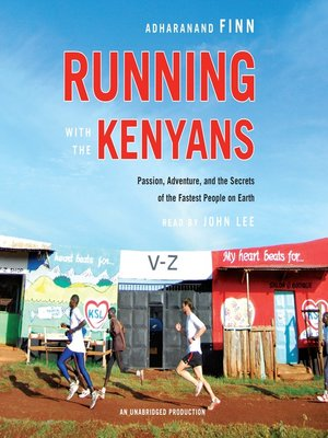cover image of Running with the Kenyans