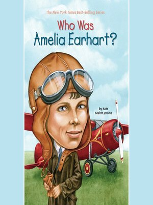 cover image of Who Was Amelia Earhart?