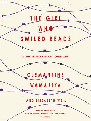cover image of The Girl Who Smiled Beads