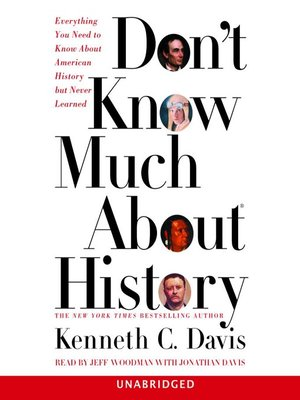 cover image of Don't Know Much About History
