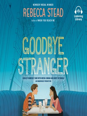 cover image of Goodbye Stranger