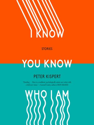 cover image of I Know You Know Who I Am