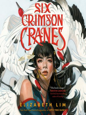 cover image of Six Crimson Cranes
