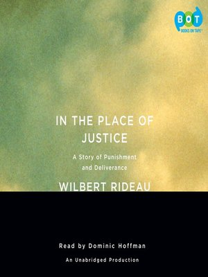 cover image of In the Place of Justice