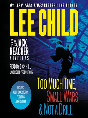 cover image of Three More Jack Reacher Novellas