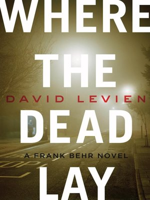 cover image of Where the Dead Lay