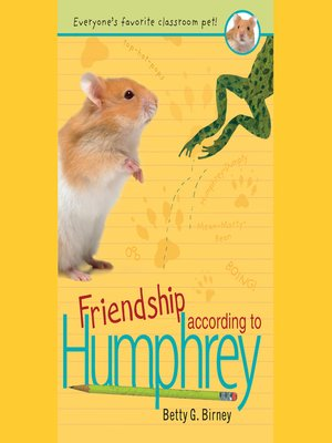 cover image of Friendship According to Humphrey