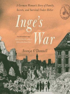 cover image of Inge's War