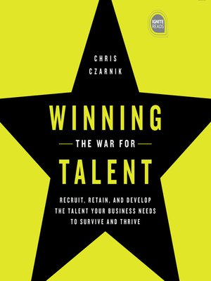 cover image of Winning the War for Talent