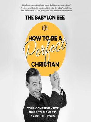 cover image of How to Be a Perfect Christian