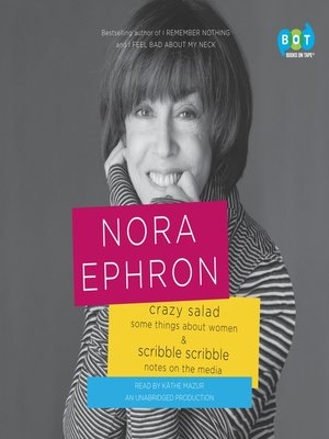 cover image of Crazy Salad and Scribble Scribble