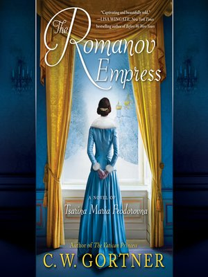 cover image of The Romanov Empress