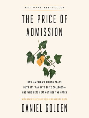 cover image of The Price of Admission