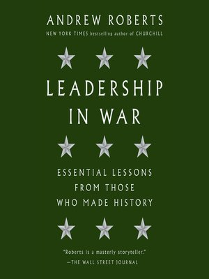 cover image of Leadership in War
