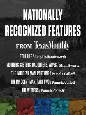 cover image of Nationally Recognized Features from Texas Monthly
