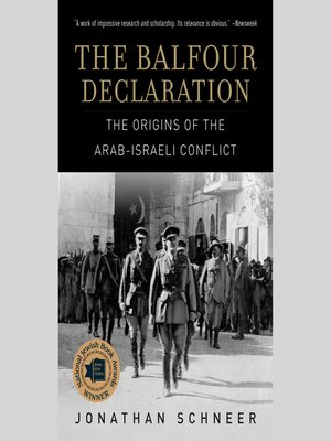 cover image of The Balfour Declaration