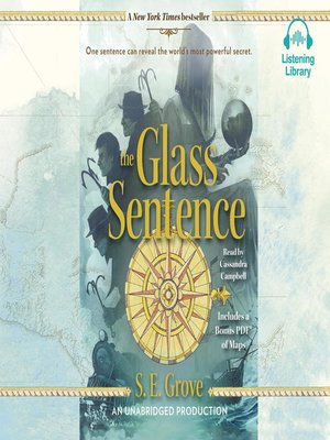 cover image of The Glass Sentence