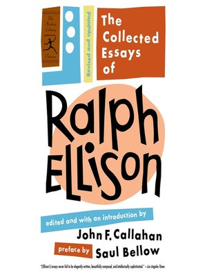 cover image of The Collected Essays of Ralph Ellison
