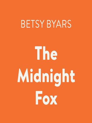 cover image of The Midnight Fox