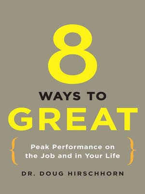cover image of 8 Ways to Great