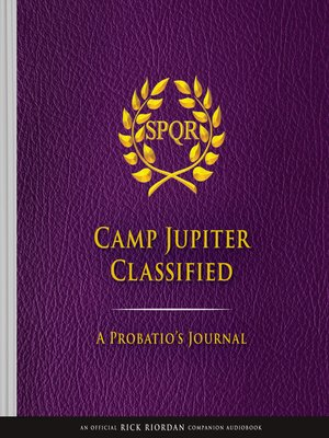 cover image of The Trials of Apollo Camp Jupiter Classified (An Official Rick Riordan Companion Book)