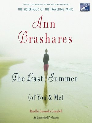 cover image of The Last Summer (Of You And Me)