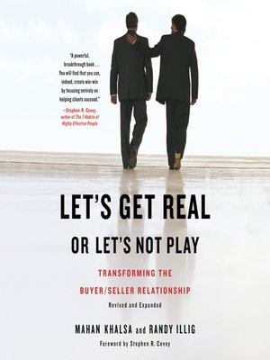 cover image of Let's Get Real or Let's Not Play