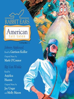 cover image of Rabbit Ears American Tall Tales, Volume 1