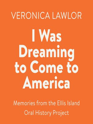 cover image of I Was Dreaming to Come to America