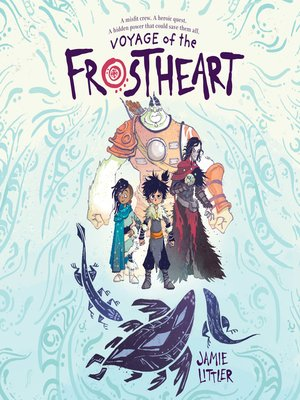 cover image of Voyage of the Frostheart