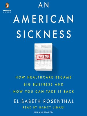 cover image of An American Sickness