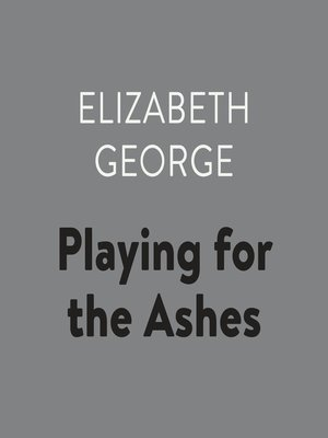 cover image of Playing for the Ashes