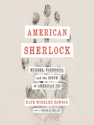 cover image of American Sherlock