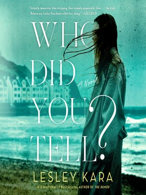 cover image of Who Did You Tell?