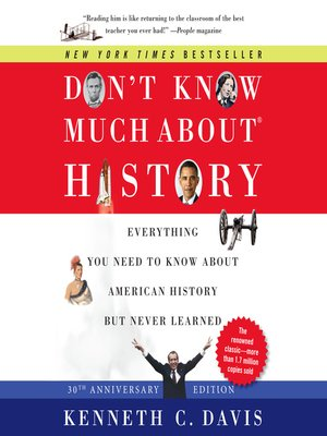 cover image of Don't Know Much About History, Anniversary Edition