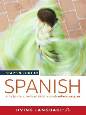cover image of Starting Out in Spanish