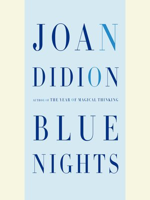 cover image of Blue Nights